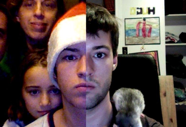 9 лет за 2 минуты: канадец склеил видео из селфи, которые делал каждый день