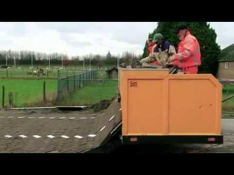 Как делают дороги в Голландии
