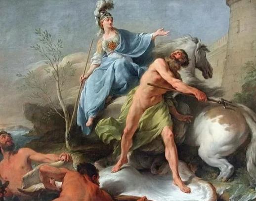 За что Афина наказала гречес…