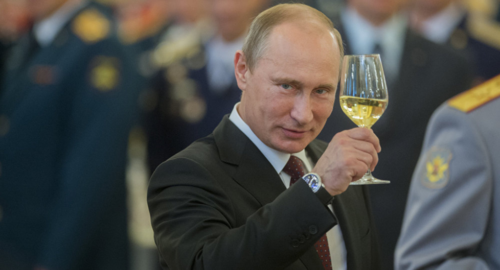 Сегодня у Владимира Владимировича Путина юбилей!