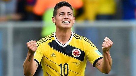 Хамес Родригес возобновил тренировки в составе национальной сборной