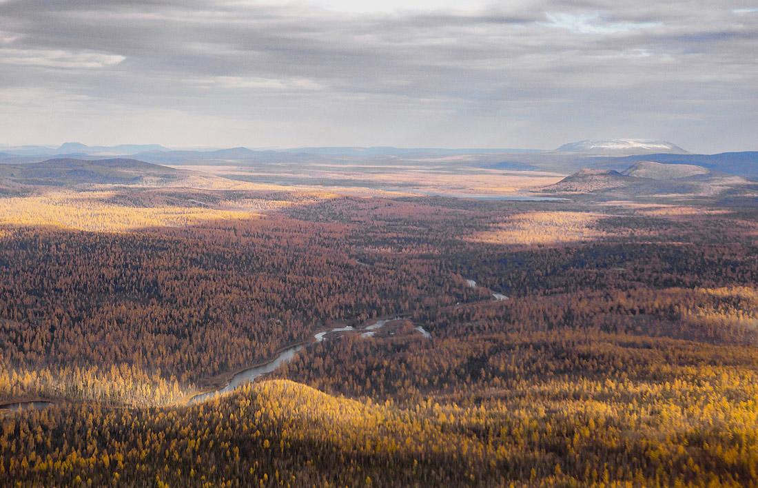 Где находится географический центр России