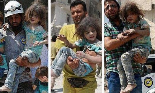 SANA: вСирии продолжаются съемки «зверских авиаударов режима Асада»