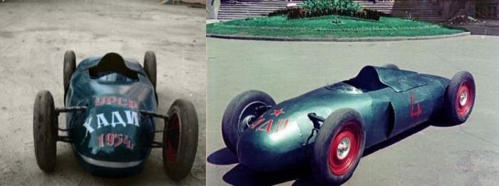 ХАДИ-1 - самый первый прототип творчества студенческого СКБ.