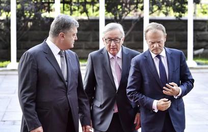 Участники саммита ЕС — Украина отказались от итогового заявления