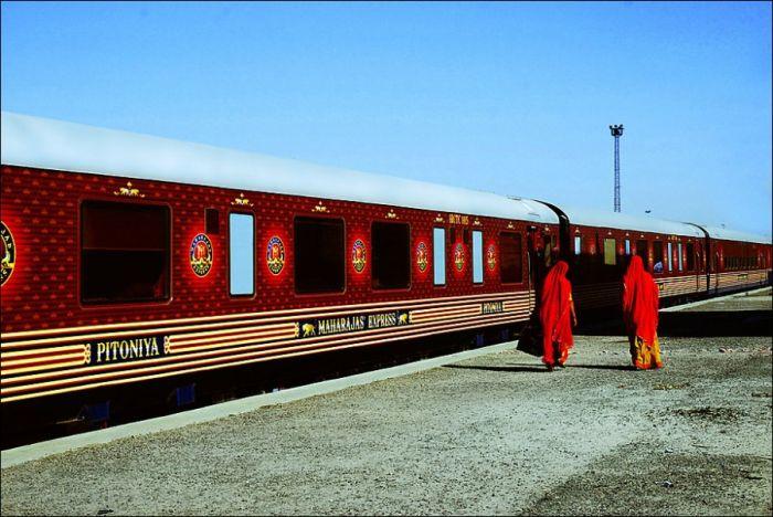 Роскошный индийский поезд
