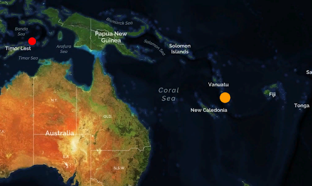 Вануату. Глубинное землетрясение магнитудой 6.4