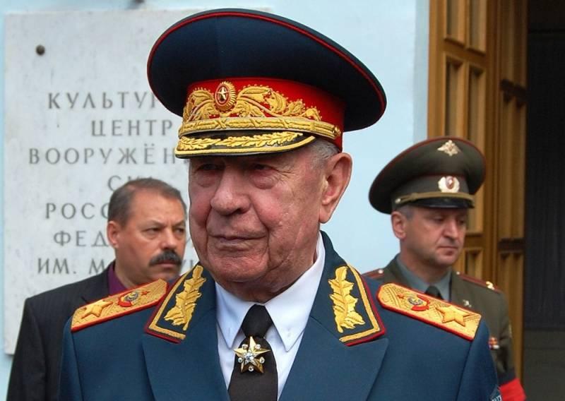 В Литве заочно приговорили маршала Язова к 10 годам лишения свободы