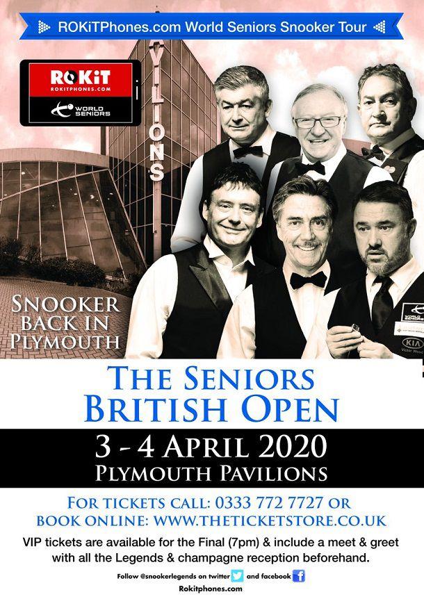 British Seniors Open 2020. Р…