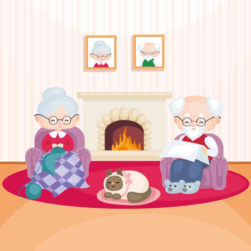Анекдот про пожилую пару, вкоторой муж заскучал побылым временам