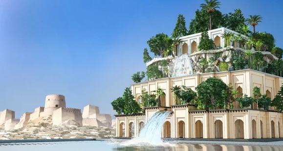 История создания и исчезновения садов Семирамиды