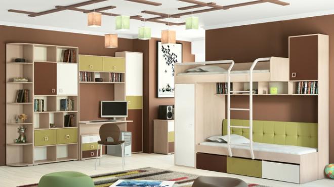 Выбор мебели в детскую. Советы родителям