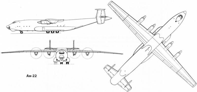 Ан-22: «Летающий собор» Страны Советов. «Перевозчик» и атомолёт. Часть 6