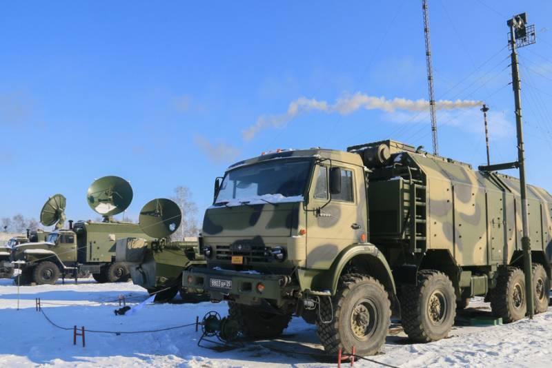 Мультисервисная транспортная сеть связи для министерства обороны