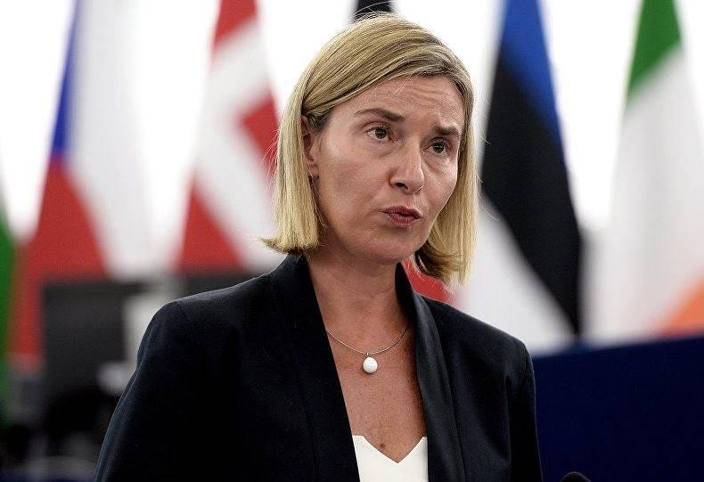 Могерини: антироссийские санкции – это инструмент для прекращения конфликта в Донбассе