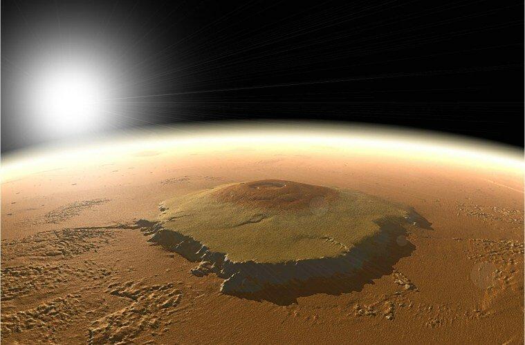 Самые высокие горы в Солнечной системе топ 10