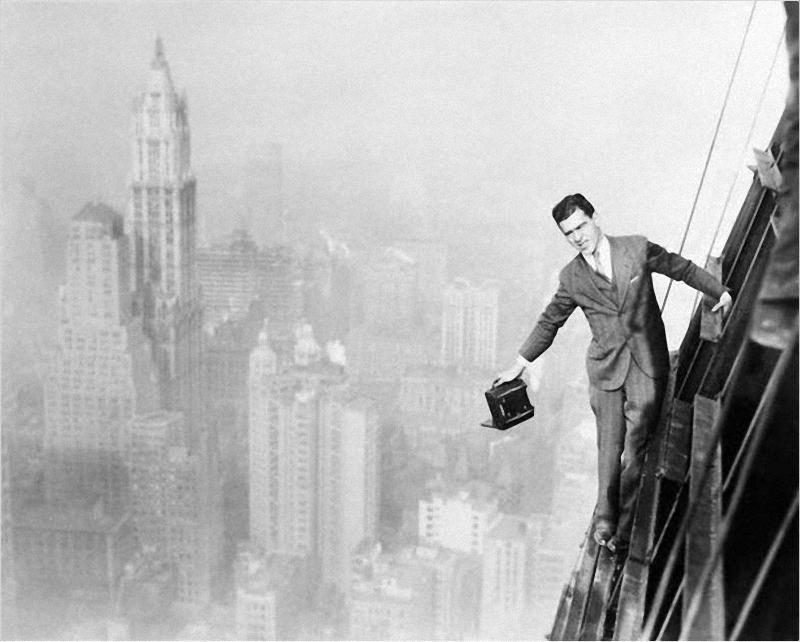 0135 Как строились небоскребы в Нью Йорке