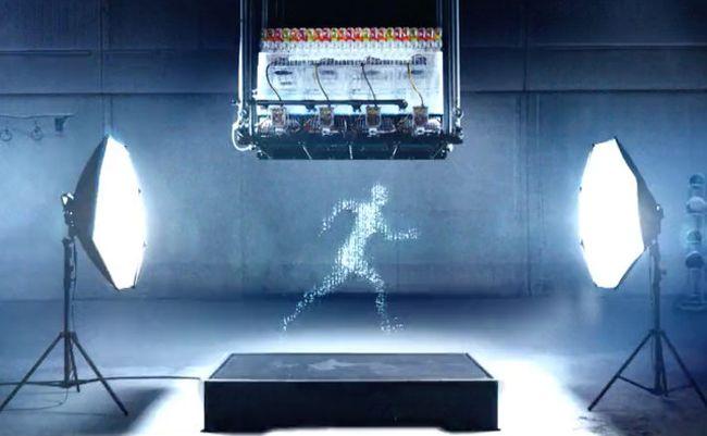 Удивительная анимация, созданная из капель воды