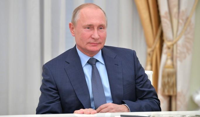В графике Путина неожиданно …