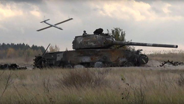 Украинский дрон-камикадзе