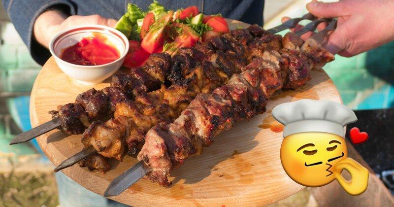 Шашлычок под коньячок: рецепты главного весеннего блюда-6 фото-