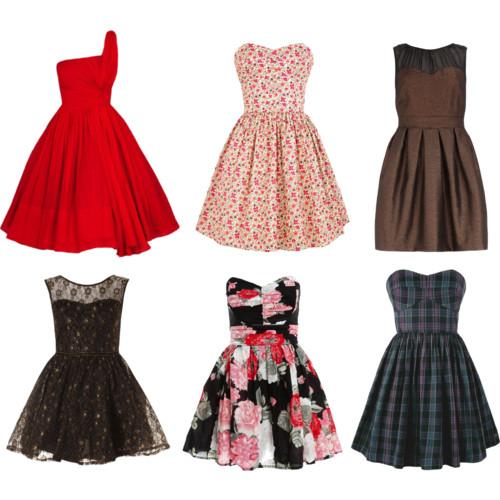 Юбки и платья: фасоны, силуэты, разновидности (Ч. 3)