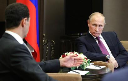 Путин и Асад обговорили поставку С-300 в Сирию
