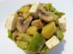 Такой салат можно приготовит…