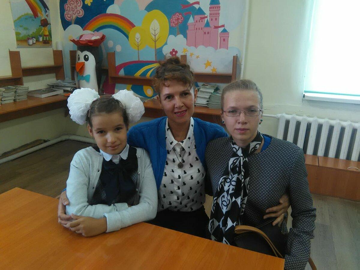 Автор с дочками. фото автора