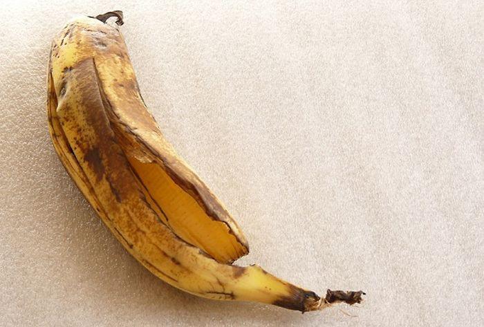 13. Сохранение «молодости» бананов быт, фольга