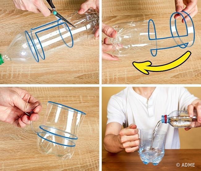 Как сделать из бутылки кружку