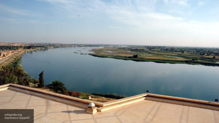 В Сирии военные инженеры РФ возвели мост через Евфрат у Дэйр эз-Зора