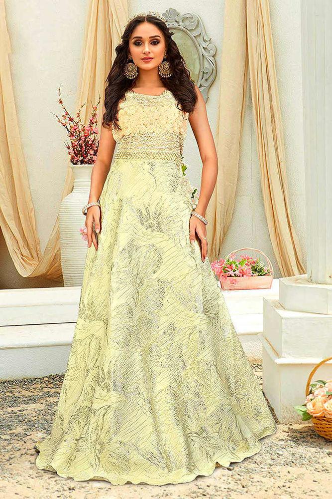 Красивые платья в индийском стиле — достойные богинь, фото № 17
