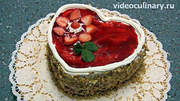 "Торт ""Любовь"". С видео"