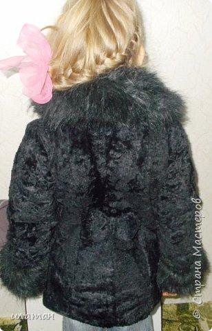 Гардероб Мастер-класс Шитьё Ремонт шубы из натурального меха Клей Мех Нитки Ткань фото 23