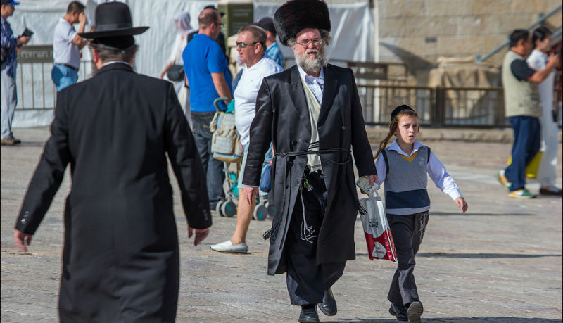 Почему и религиозных евреев такая одежда