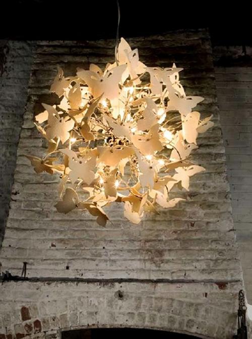 Бабочки в интерьере - порхающий символ любви и радости