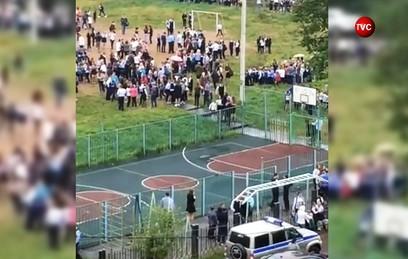 СКР возбудил дело по факту стрельбы в школе в Ивантеевке