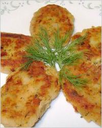 Котлеты из картофеля и фасоли