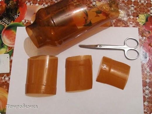 Поделка, изделие Моделирование: МК елочки и шишки из пластиковых бутылок Бутылки пластиковые Новый год. Фото 2