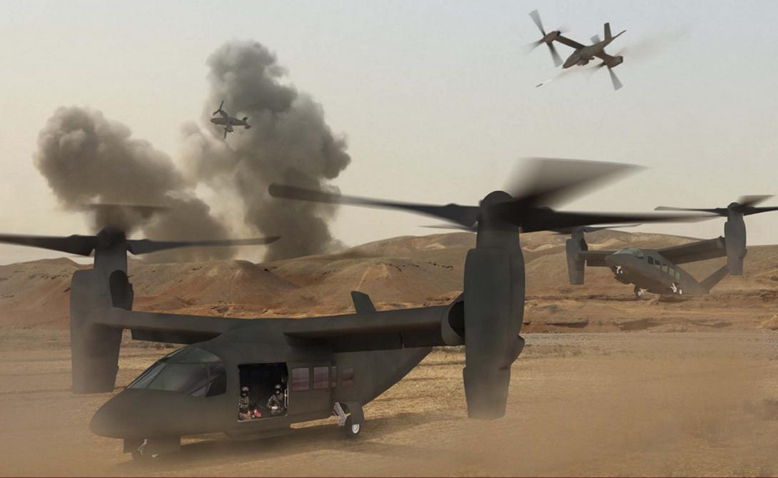 Проект V-280: новый военный конвертоплан