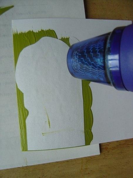 Как перенести рисунок с помощью акриловой краски