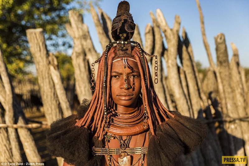 """Удивительные прически женщин из """"потерянных племен"""" Анголы"""