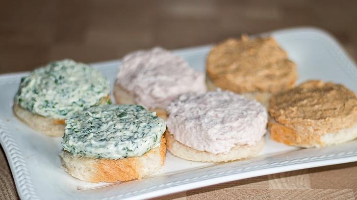 3 варианта паштета для быстрых бутербродов
