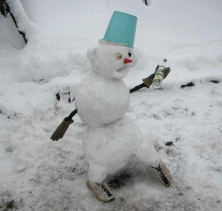 Снеговики, снежные бабы и не только (72 фото)Приколы