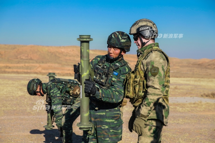 Совместные учения Росгвардии и Народной вооруженной полиции КНР