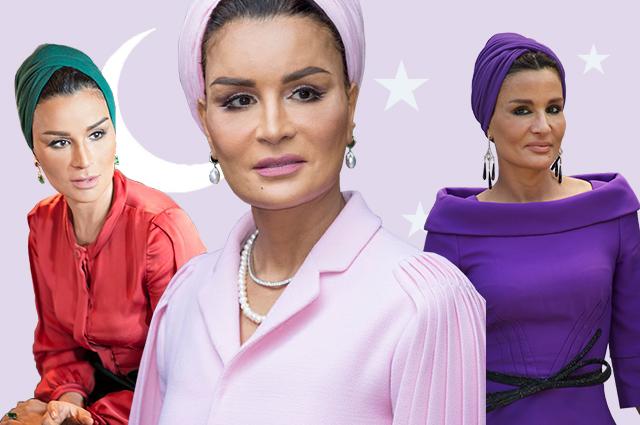 Самая модная женщина Востока: почему все восхищаются стилем шейхи Мозы