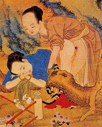 Секс и эротика в искусстве древнего китая видео