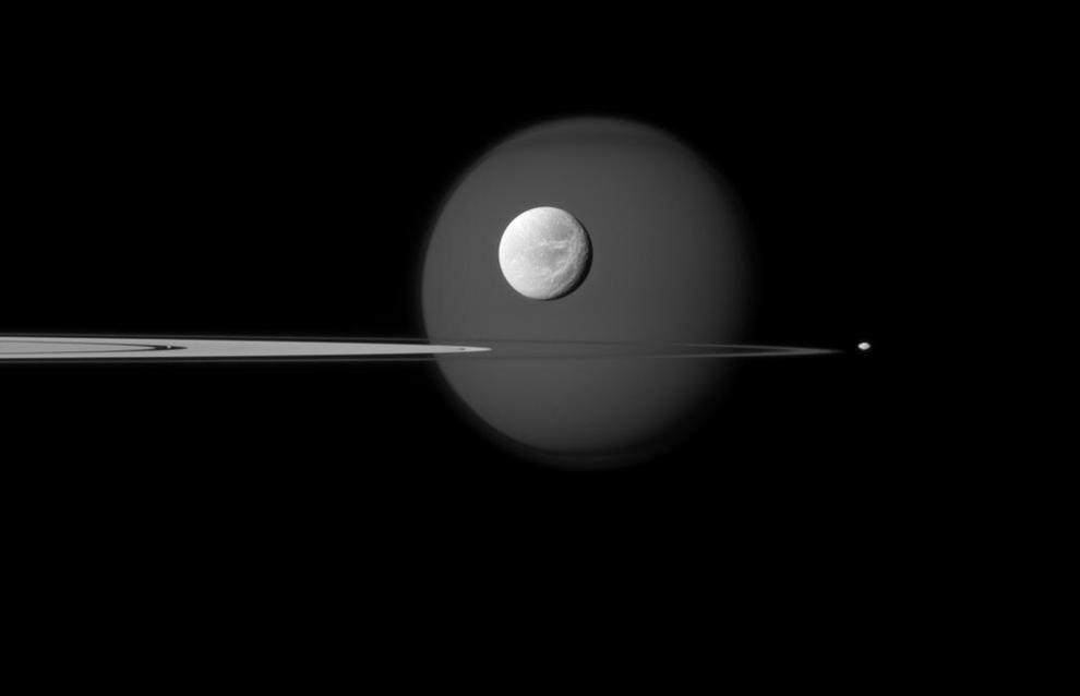 2187 Система Сатурна: октябрь 2011 года