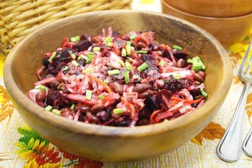Салат со свёклой Барин